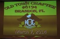 March 7, 2014 Chapter Meeting